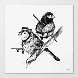 Gang Canvas Print