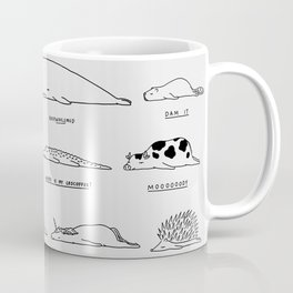 Moody Animals Pattern Coffee Mug