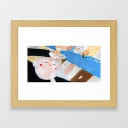 Le Géant Framed Art Print