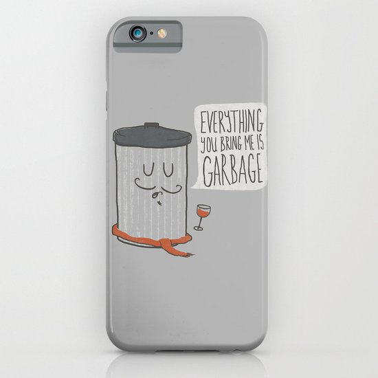 French Trash Can iPhone & iPod Case