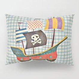 Vintage Pirates Pillow Sham