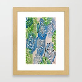 coming up Roses Framed Art Print