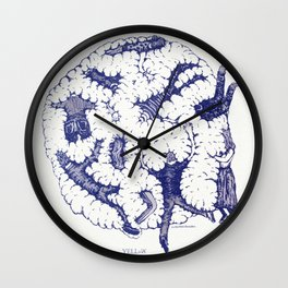 "We are in a Cotton Ball (8'x8"") Wall Clock"