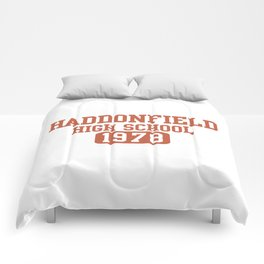 HADDONFIELD HIGH SCHOOL 1978 Comforters