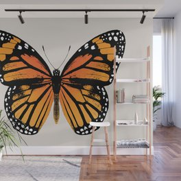 Monarch Butterfly Wall Mural