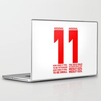 arsenal Laptop & iPad Skins featuring Mesut Ozil Chant by Maxvtis