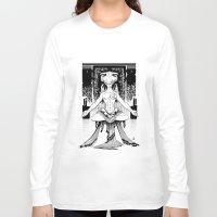 meditation Long Sleeve T-shirts featuring Meditation. by Dmitry Ilyutkin