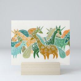Unicorns Mini Art Print