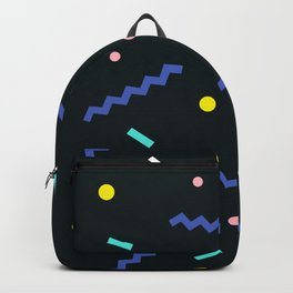 Memphis pattern 53 Backpack