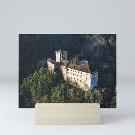 Castle Stixenstein in lower Austria - Aerial View Mini Art Print