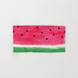 Watermelon Abstract Hand & Bath Towel