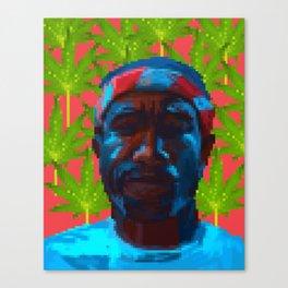 Frank  fanart with pixels Canvas Print