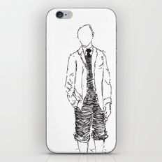 Standing is Fun iPhone & iPod Skin