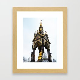 Royal Kensington Garden Framed Art Print