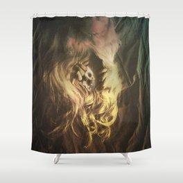 Cosmic Entrance Shower Curtain