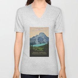Mount Robson Provincial Park Unisex V-Neck