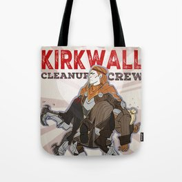 DA2 - Kirkwall Cleanup Crew Tote Bag