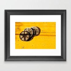 Film Reels Framed Art Print
