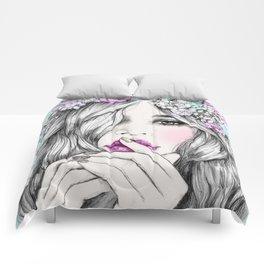 Coup de foudre Comforters