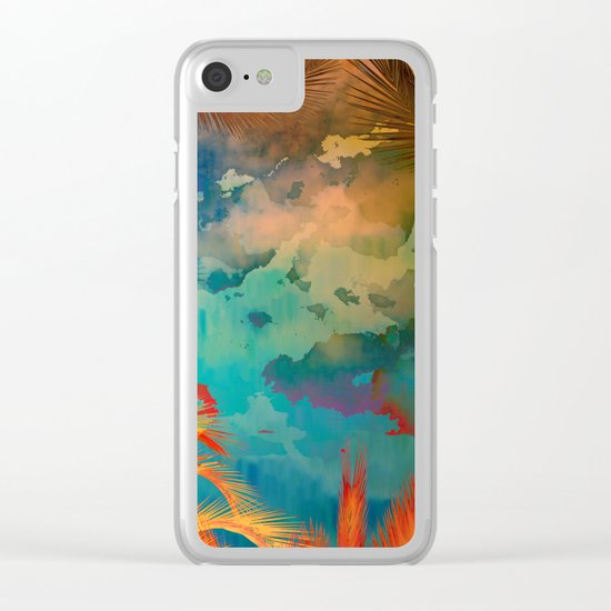 A place for lying down and look up / Botanic 24-09-16 Clear iPhone Case