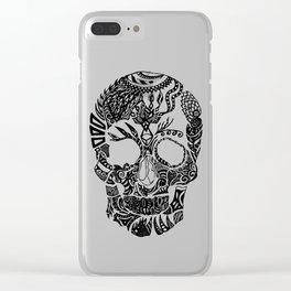 Dia de los muertos by Floris V Clear iPhone Case