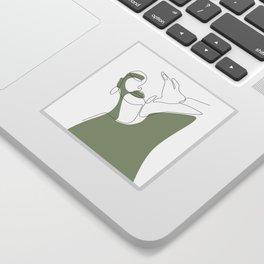 Olive Selfie Sticker