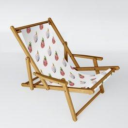 Dragon fruit (watercolor) Sling Chair