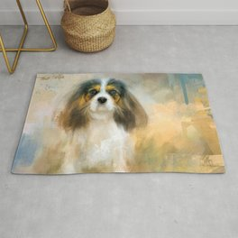 The Attentive Cavalier Rug