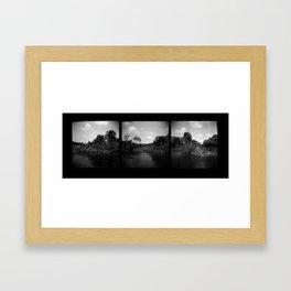 Fayette County Framed Art Print