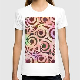 Softly Colored Swirls T-shirt
