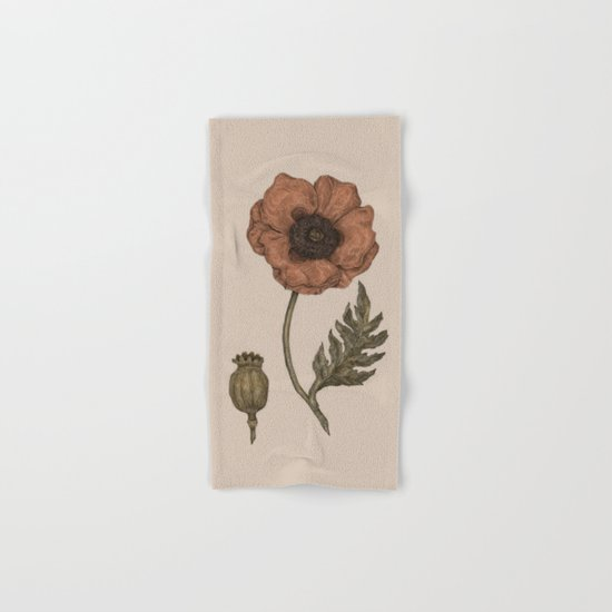 Poppy Hand & Bath Towel