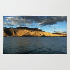 Pangong Blues! Rug