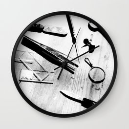 exploring life Wall Clock
