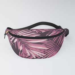 Rose palm leaves Fanny Pack