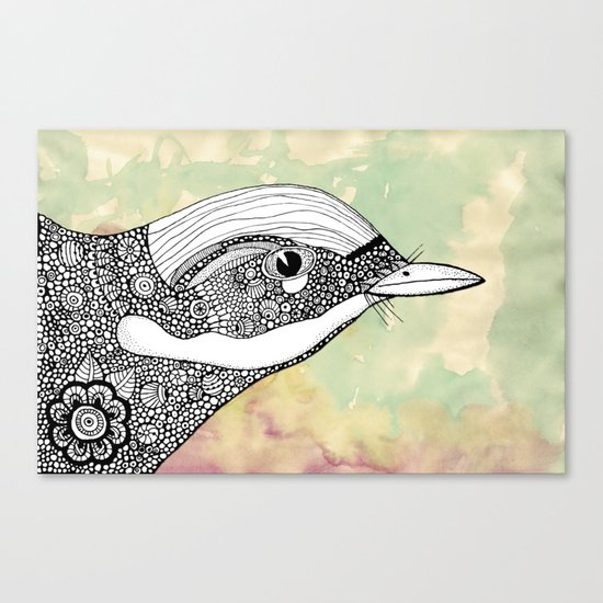 The flight Canvas Print