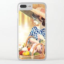 Bienvenue en Provence Clear iPhone Case