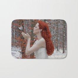 Lady Winter Bath Mat