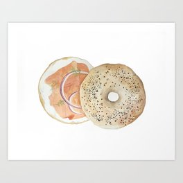 Bagel & Lox Vol. 3 Art Print