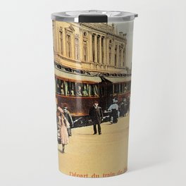1900s Haydarpasa railroad station, train Travel Mug