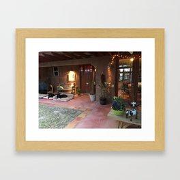 Mi Hacienda Framed Art Print