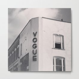 Vogue Metal Print
