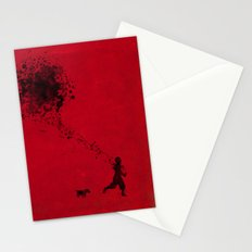 the pollock's way Stationery Cards