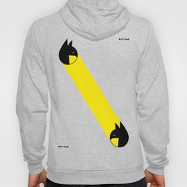 bat-man or pac-man? Hoody