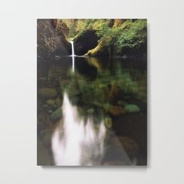 Upper Punchbowl Falls | Eagle Creek, Oregon Metal Print