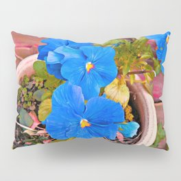Little Blue Eyes. Pillow Sham