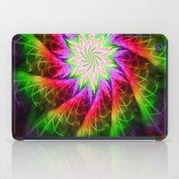 chakra iPad Cases featuring Star Chakra by Muertorita