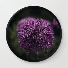 Flower Photography by Xuan Nguyen Wall Clock