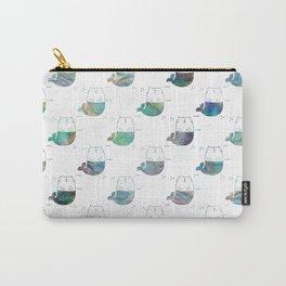 MerKitty Ocean Seashell Carry-All Pouch