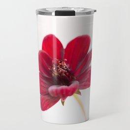 Velvety chocolate cosmos flower Travel Mug