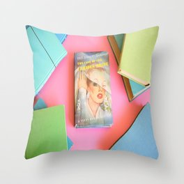 The Case of the Curious Bride Throw Pillow